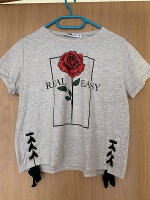 T-Shirt mit Schlaufen