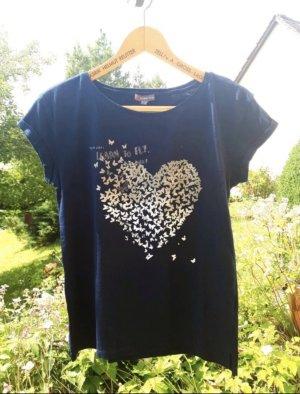 T-Shirt mit Schmetterlingen