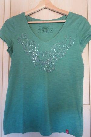 edc V-Neck Shirt multicolored cotton