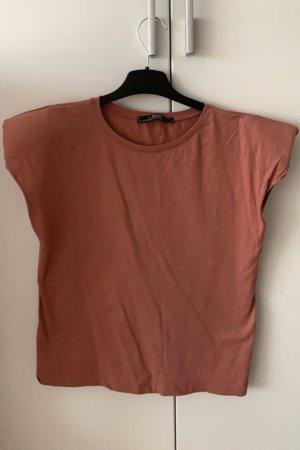 T-Shirt mit schulterpolstern 36