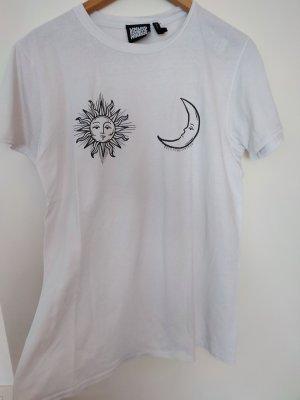 Reclaimed Vintage Print Shirt white
