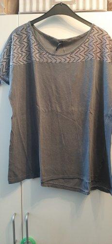 Kik T-shirt grigio ardesia