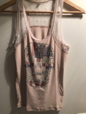 aus Italien T-shirt rosa antico