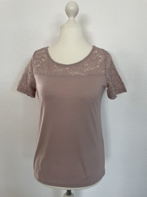 Jaqueline de Yong T-shirt rosa antico-rosa pallido