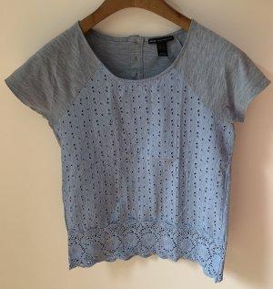T-Shirt mit Spitzenbesatz | neu, nicht getragen