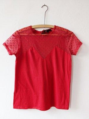 Maje T-Shirt red-brick red