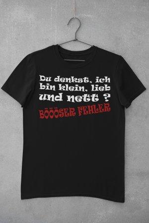 "T-Shirt mit Spruch ""Böööser Fehler"""