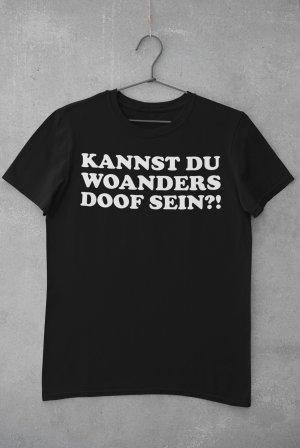 """T-Shirt mit Spruch """"Doof"""""""