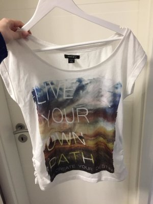 T-Shirt mit Spruch - Live your own Path