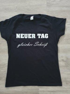 """T-Shirt mit Spruch """"Neuer Tag"""""""