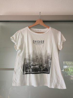 Mango Denim & Tees T-shirt imprimé multicolore
