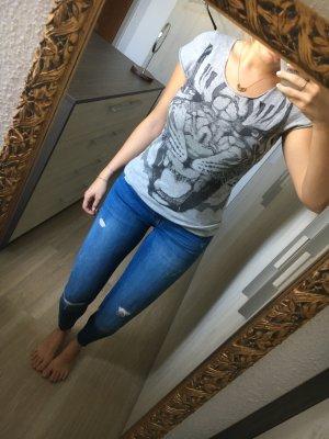 T-Shirt mit Tiger Aufdruck