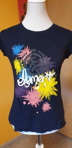 Element Camiseta estampada multicolor Algodón