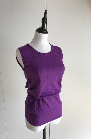Bench T-shirt violet coton