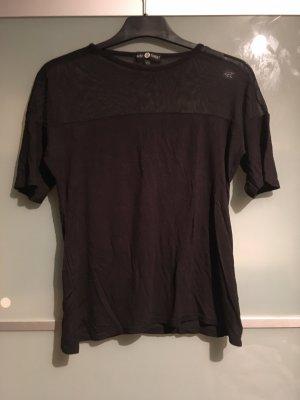 T-Shirt mit Transparenz