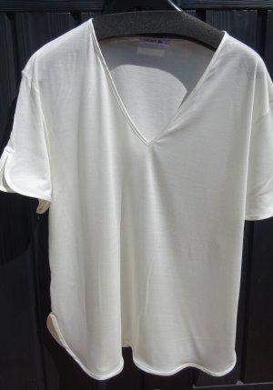 T-Shirt mit V-Ausschnitt von Lacoste