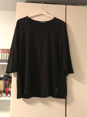 T-Shirt mit weitem Ausschnitt schwarz Größe 46/48 von Ulla Popken – NEU und ungetragen