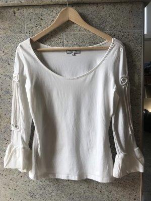 Anne Fontaine T-shirt blanc cassé