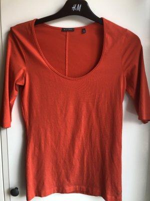 T-Shirt MOP rot orange XS lachsrot 3/4 Arm