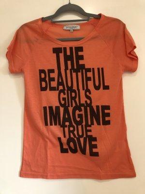 T-Shirt Neon-orange, Gr. M, Clockhouse