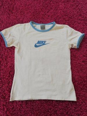 Nike Maglietta sport bianco-blu