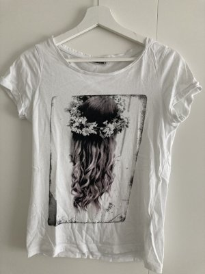 Noisy May T-shirt bianco