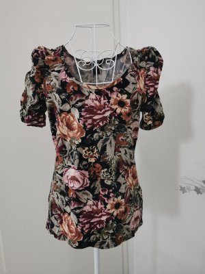 T-shirt Oberteil Blumen