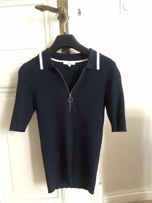 Jake*s Koszulka polo ciemnoniebieski-biały