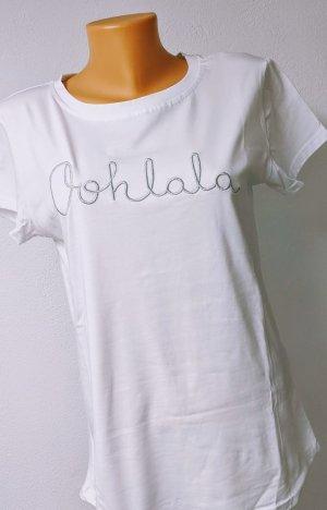 "T-Shirt ""Oohlala"" Gr. 36-40 Einheitsgröße"