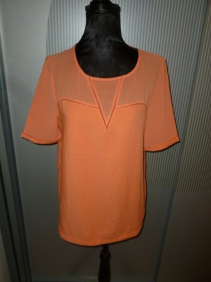 T-Shirt orange korall Promod