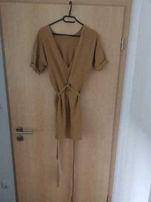 T-Shirt Oversize Kleid mit Gürtel