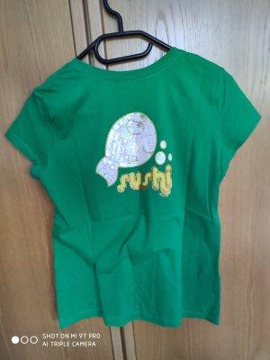 Alcott Camiseta verde-verde pradera Algodón