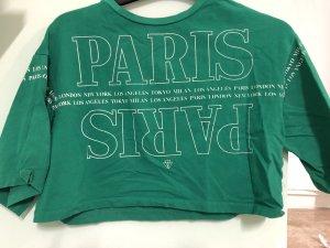 Tally Weijl Cropped shirt groen