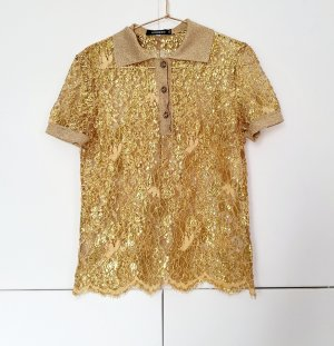 T-Shirt polo von Iceberg gr. 36 Gold