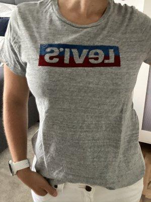 T-Shirt - Print - Shirt - grau - rot - blau - Levi`s