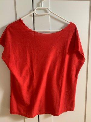 Promod Shirt basique rouge