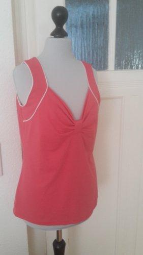 T-Shirt - rosa - V-Ausschnitt - Gr. M