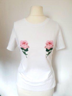 T-Shirt Rosen Gr. S 36 neuwertig
