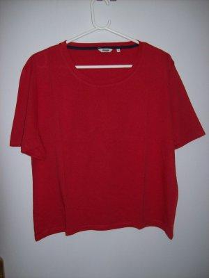 Wrangler T-shirt rosso-bianco