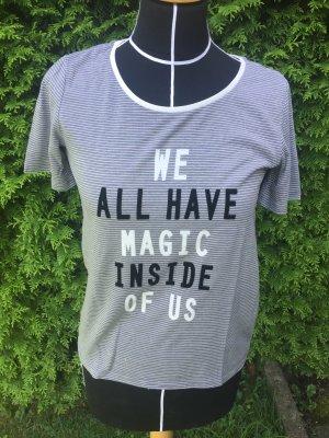 T-Shirt S.Oliver gestreift mit Schrift