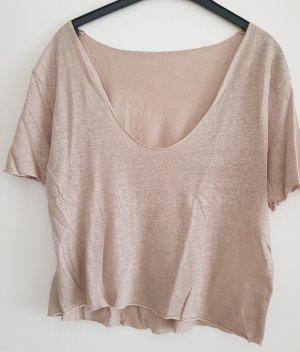 T-Shirt, sandfarben, Gr. L