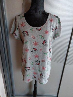 T-Shirt Schlafshirt grau Micky Mouse Disney