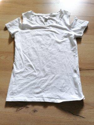t-shirt schulterfrei
