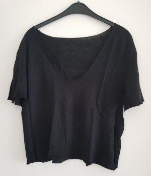 T-Shirt, schwarz, Gr. L