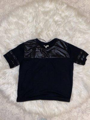 Zara Camisa holgada negro