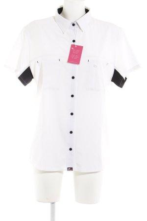 T-Shirt schwarz-weiß sportlicher Stil