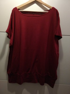 Top extra-large rouge carmin