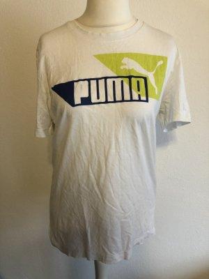 T-Shirt Shirt oversized weiß Puma