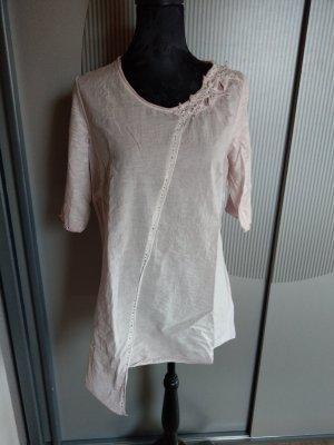 T-Shirt Shirt rosa Sterne Steinchen Tredy