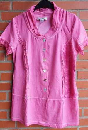 Linea Tesini Batik Shirt pink-pink mixture fibre